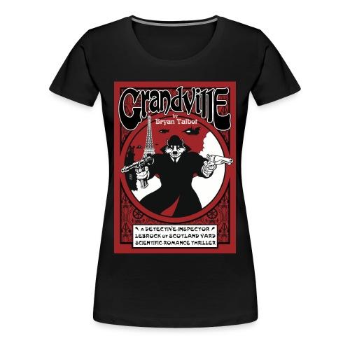 Grandville ladies black t-shirt - Women's Premium T-Shirt