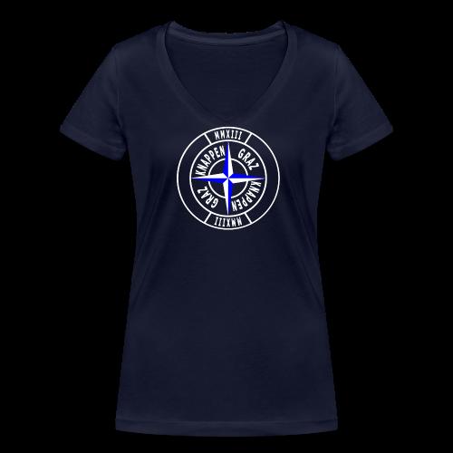KG Woman Shirt 17 - Frauen Bio-T-Shirt mit V-Ausschnitt von Stanley & Stella