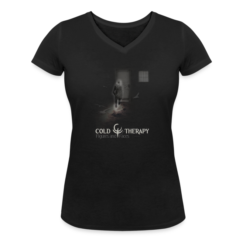 Figures and Faces Women's V-Neck - Women's V-Neck T-Shirt