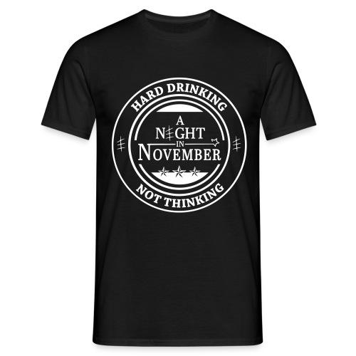 Men's Hard Drinking - Logo T-Shirt - Men's T-Shirt