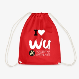 I love wu academy BAG - Turnbeutel