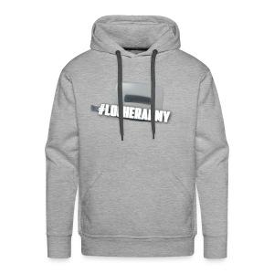 Men's Premium Hoodie - Locherarmy : heather grey - Men's Premium Hoodie