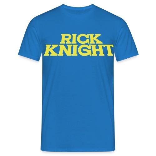 Rick Knight (Royalblau) - Männer T-Shirt