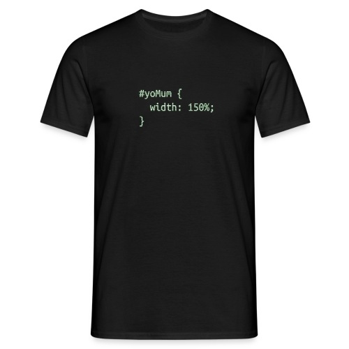 yoMum - Männer T-Shirt
