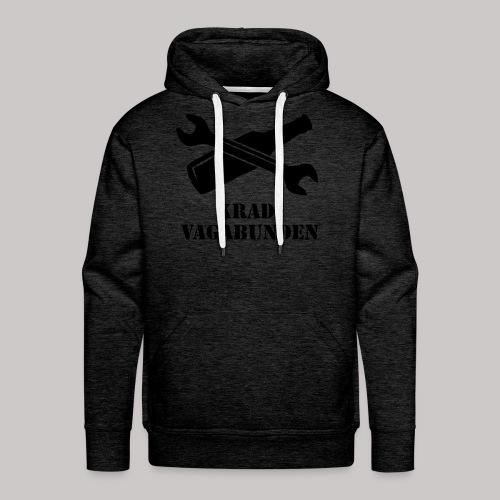 SCHRAUBENSCHLÜSSEL & PULLE - Kapuzenpulli (schwarzer Aufdruck) - Männer Premium Hoodie
