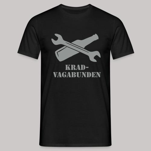 SCHRAUBENSCHLÜSSEL & PULLE - T-Shirt Männer (grauer Aufdruck) - Männer T-Shirt
