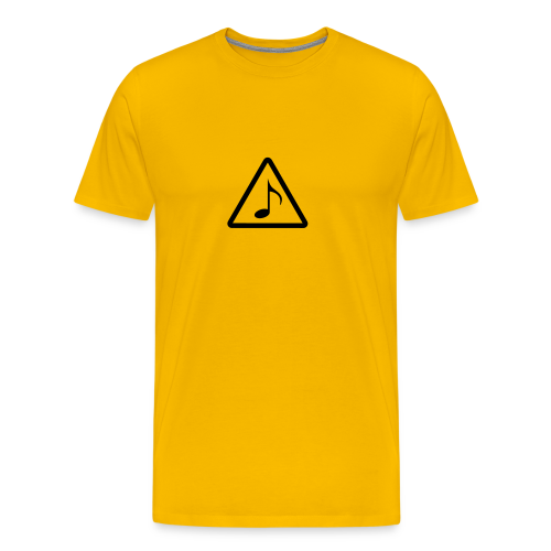 Phänshirt v1 (m,gelb) - Männer Premium T-Shirt