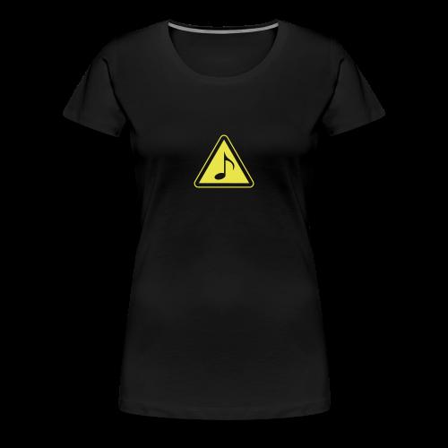 Phänshirt v1 (w,schwarz) - Frauen Premium T-Shirt