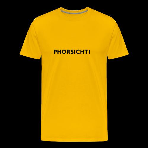 Phänshirt v2 (m,gelb) - Männer Premium T-Shirt