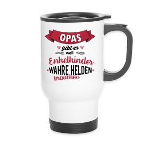 Opa - wahrer Held Tassen & Zubehör - Thermobecher