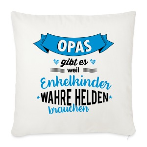 Opa - wahrer Held Sonstige - Sofakissenbezug 44 x 44 cm