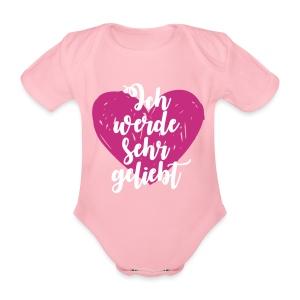 Ich werde sehr geliebt Baby Bodys - Baby Bio-Kurzarm-Body
