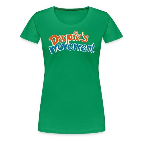 move ur s - Frauen Premium T-Shirt