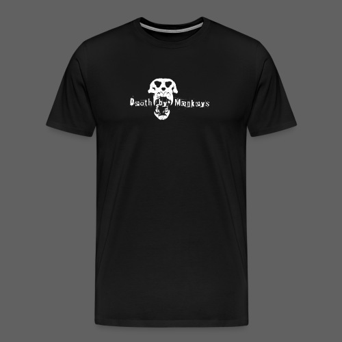 Death by Monkeys Logo Herren - Männer Premium T-Shirt