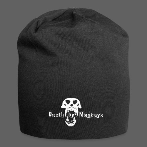 Death by Monkeys Logo Beanie - Jersey-Beanie