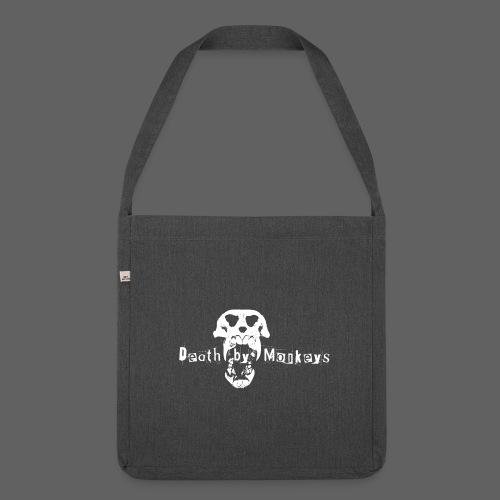 Death by Monkeys Tragetasche - Schultertasche aus Recycling-Material