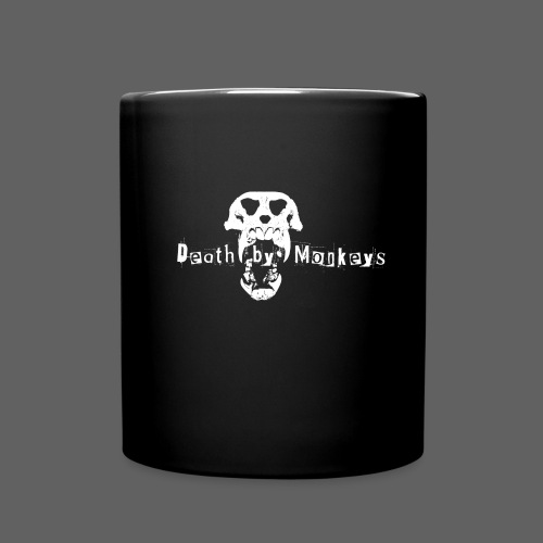 Death by Monkeys Tasse - Tasse einfarbig