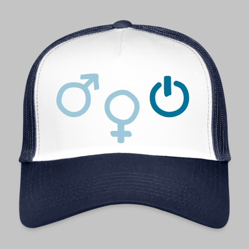 Casquette Geek Gender - Trucker Cap