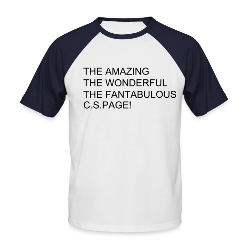 the amazing pagey t-shirt - Men's Baseball T-Shirt
