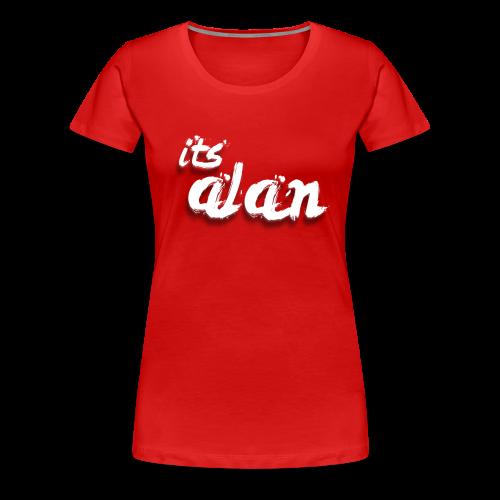 ItsAlan T-Shirt Voor vrouwen (rood) - Vrouwen Premium T-shirt