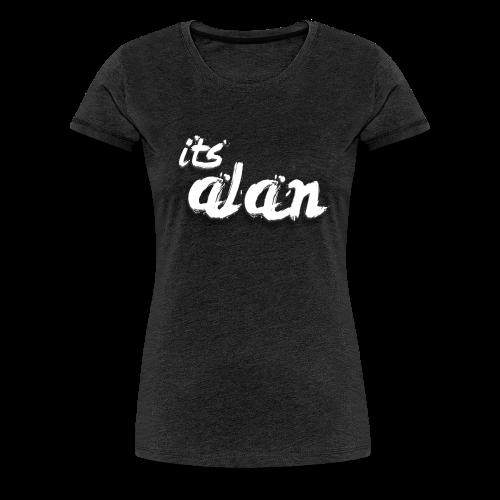 ItsAlan T-Shirt Voor vrouwen (Grijs) - Vrouwen Premium T-shirt