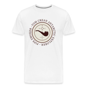 Tom Crean - Antarctic Explorer - Pipe Smoker - Men's Premium T-Shirt