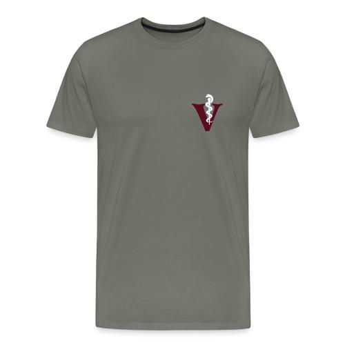 Veterinär Tierarzt - Männer Premium T-Shirt