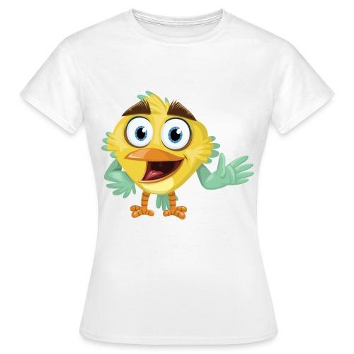 Happy bird T-Shirt - Natur Kollektion - Frauen T-Shirt