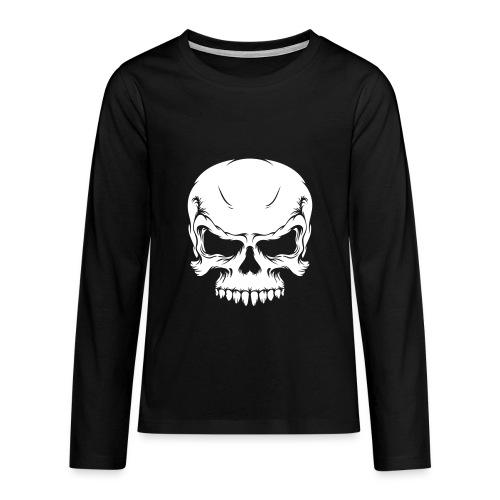 Calabera - Camiseta de manga larga premium adolescente