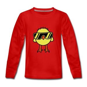 El jefe - Camiseta de manga larga premium adolescente
