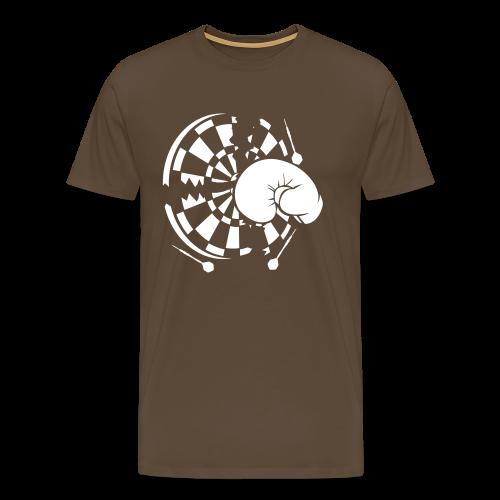Dartscheibe Boxen Shirt - Männer Premium T-Shirt