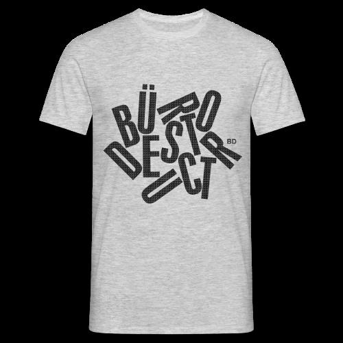 Büro Destruct Tumble Tshirt - Männer T-Shirt