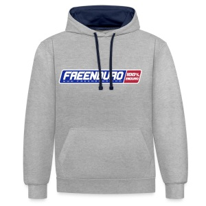 100% Freenduo - Sweat-shirt contraste