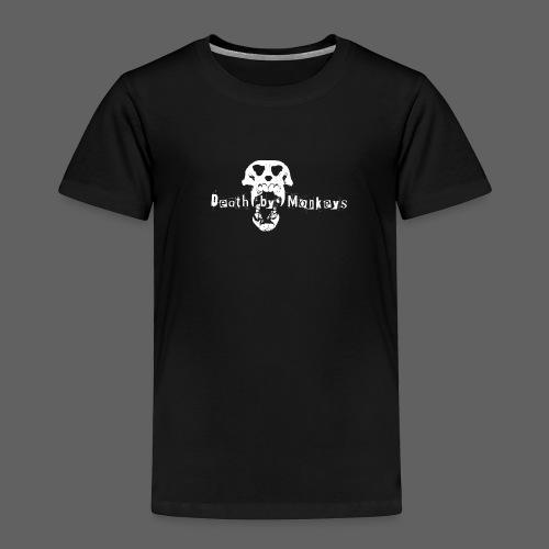 Death by Monkeys Logo Kind - Kinder Premium T-Shirt