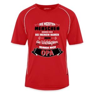 Beim Namen nennen - Opa T-Shirts - Männer Fußball-Trikot