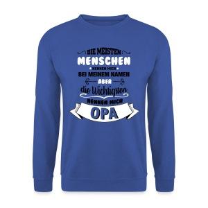 Beim Namen nennen - Opa Pullover & Hoodies - Männer Pullover