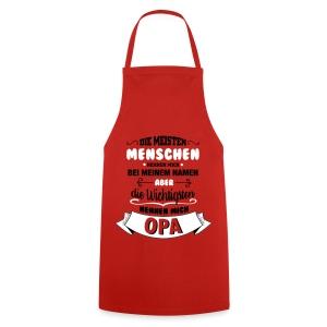 Beim Namen nennen - Opa Schürzen - Kochschürze