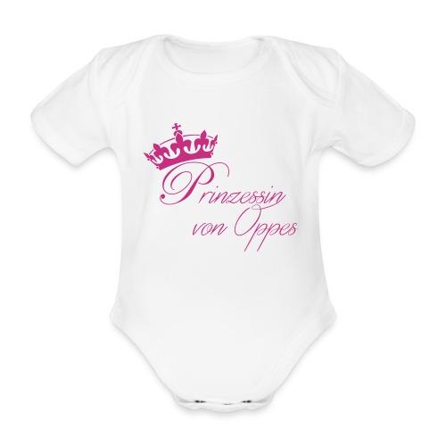 WeLoveOppes | Prinzessin von Oppes | Kurzarm-Body - Baby Bio-Kurzarm-Body