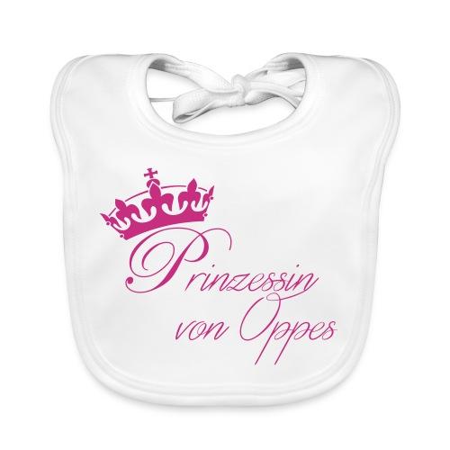 WeLoveOppes | Prinzessin von Oppes | Bio-Babylätzchen - Baby Bio-Lätzchen