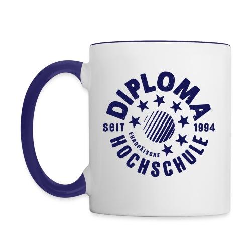 DIPLOMA Alumni Tasse - Tasse zweifarbig
