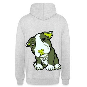 Pit Bull Terrier Puppy Greens - Unisex Hoodie