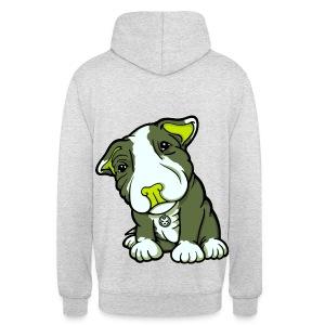 Pit Bull Terrier Puppy Greens - Unisex Hoodie