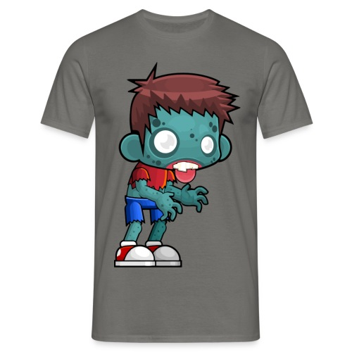 T-Shirt von B&C - Männlicher Zombie - Männer T-Shirt