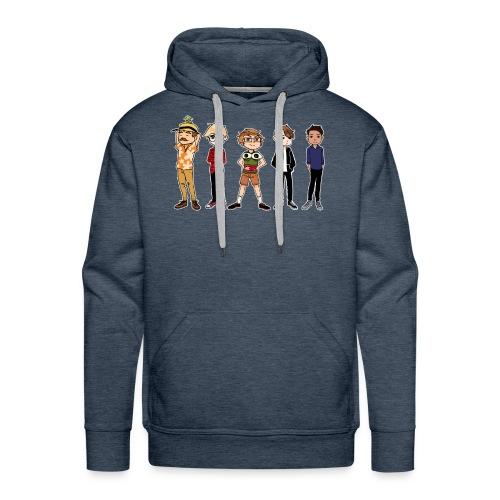 Unisex Gang Hoodie - Men's Premium Hoodie