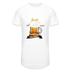 Prost, toller Vater T-Shirts - Männer Urban Longshirt