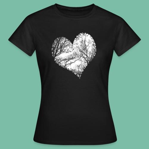 Duo Wild heart Brocéliande Spirit Manches courtes - T-shirt Femme