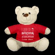 Kuscheltiere ~ Teddy ~ I lieb di bis noch Schasklappersdurf