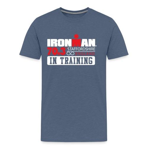 IRONMAN 70.3 Staffordshire In Training Men's Premium T-shirt - Men's Premium T-Shirt