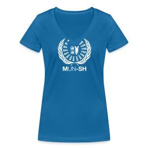 MUN-SH-T-Shirt Women - Frauen Bio-T-Shirt mit V-Ausschnitt von Stanley & Stella