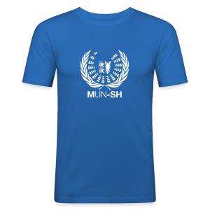 MUN-SH-T-Shirt Men Slim Fit - Männer Slim Fit T-Shirt